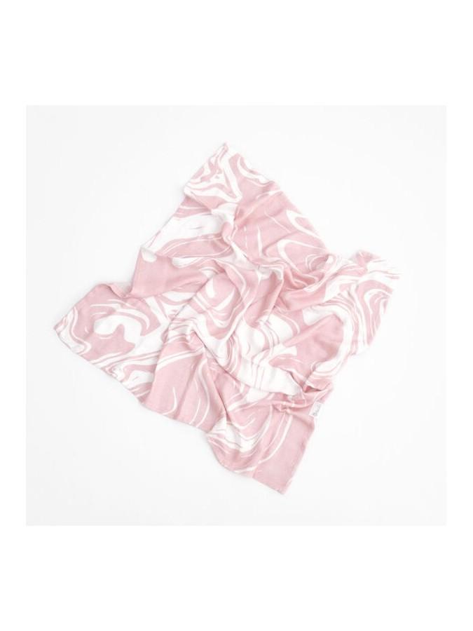 Bolo 2pak otulaczy pieluszek muślinowych 70x70cm różowa abstrakcja lastryko