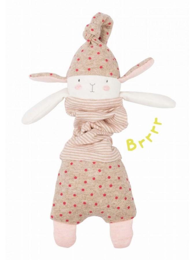 Moulin Roty wibrująca przytulanka królik