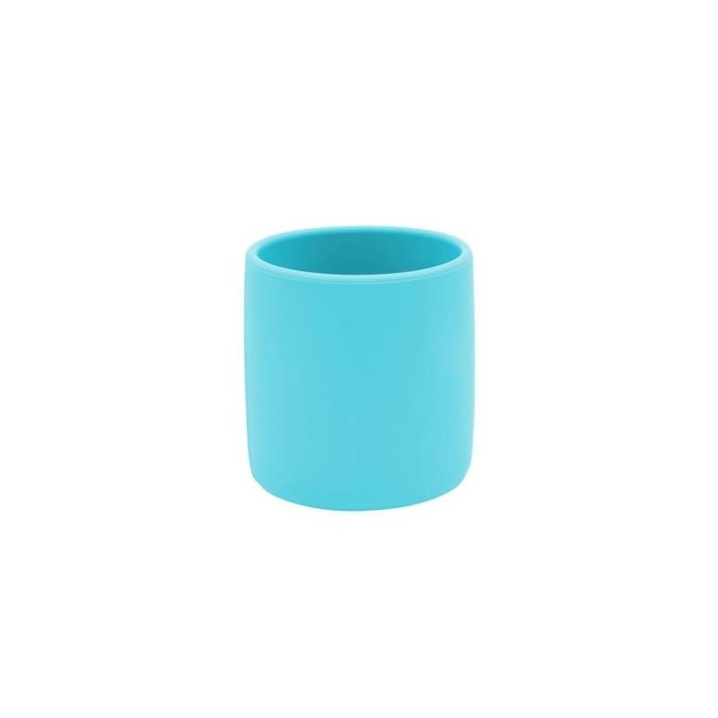 MINIKOIOI kubeczek silikonowy niebieski