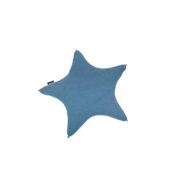 Poofi poduszka gwiazdka denimowy