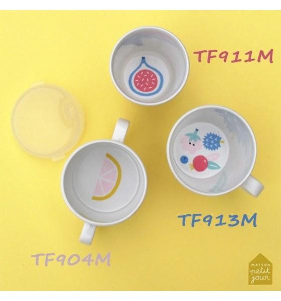 Maison Petit Jour kubek z przykrywką 160 ml Tutti Frutti