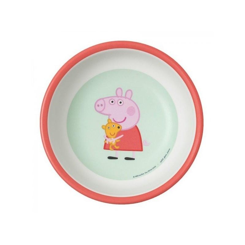 Petit Jour Paris miseczka dla dzieci z melaminy 250 ml Świnka Peppa