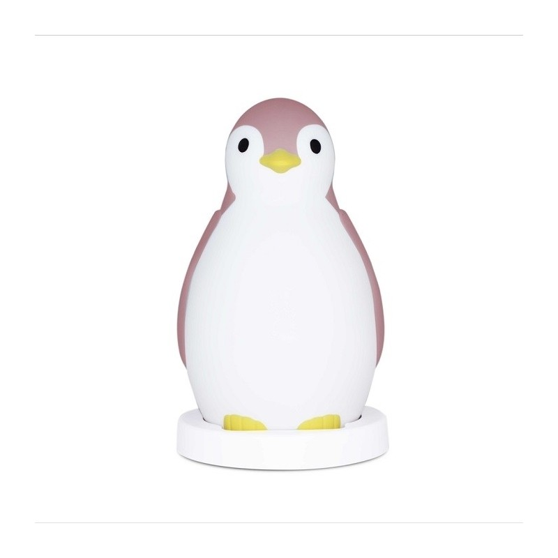 ZAZU Pam trener snu pingwin pink