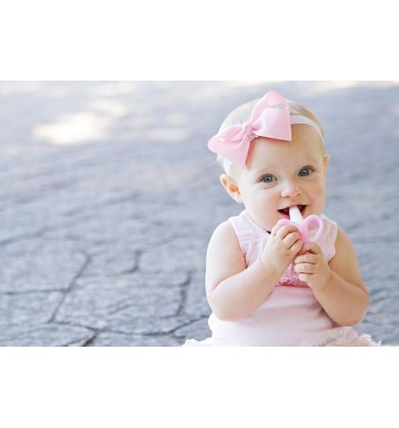 Baby Banana szczoteczka treningowa pink