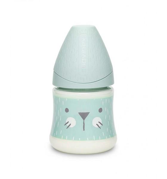 Suavinex butelka Hygge Baby 150 ml kotek miętowy