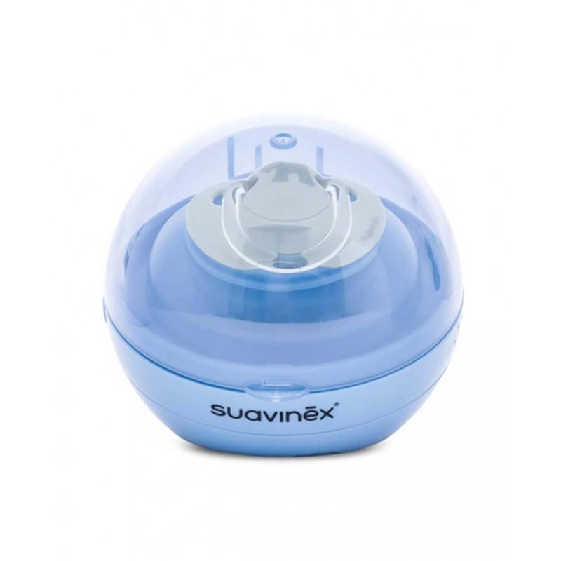 Suavinex sterylizator UV do smoczków uspokajających Duccio niebieski