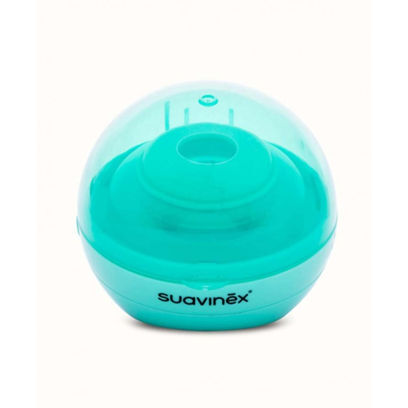 Suavinex sterylizator UV do smoczków uspokajających Duccio zielony