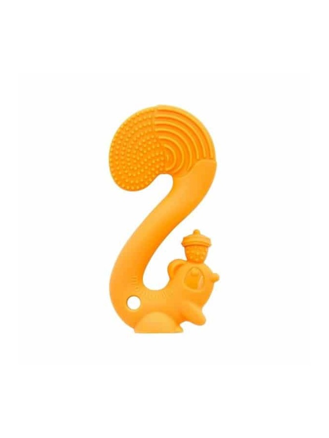 Mombella gryzak zabawka Squirrel Orange