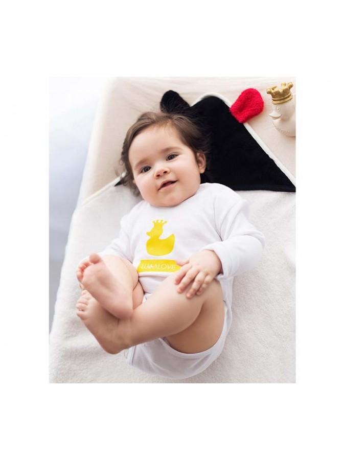 Lullalove okrycie kąpielowe dla niemowląt MR B