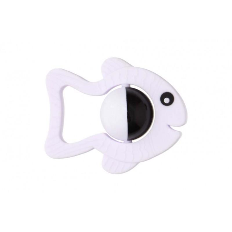 Moms Care gryzolki grzechotka silikonowa rybka