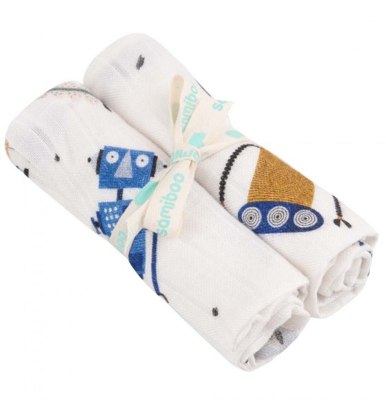 Samiboo zestaw pieluszek S Roboty premium