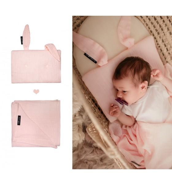 Lullalove poduszka królik rose