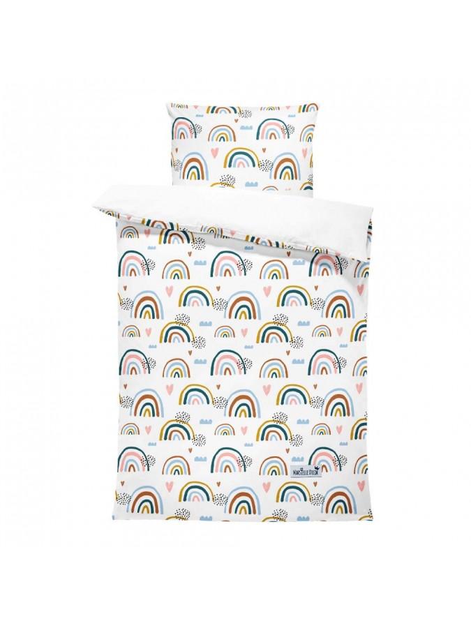 Marsielle Decor pościel Spring Rainbow poszewki 100x135 cm