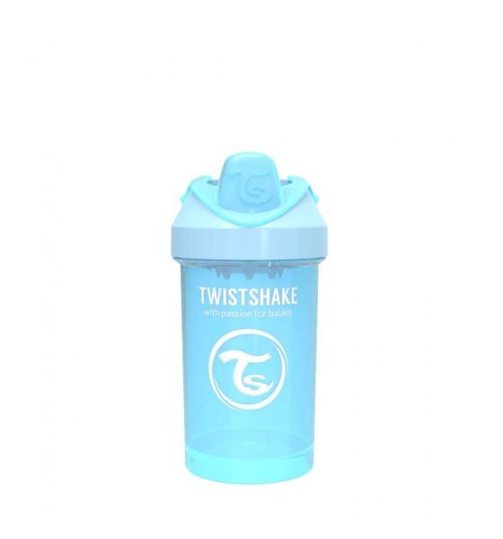 Twistshake kubek niekapek z mikserem do owoców 300 ml pastelowy niebieski