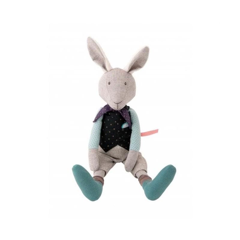 Moulin Roty przytulanka Spóźniony królik 37 cm