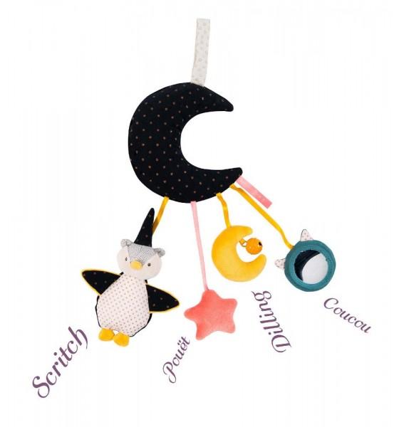 Moulin Roty zabawka interaktywny księżyc 40 cm