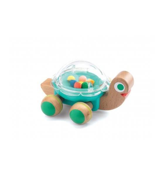 Djeco drewniana zabawka na kółkach Lola