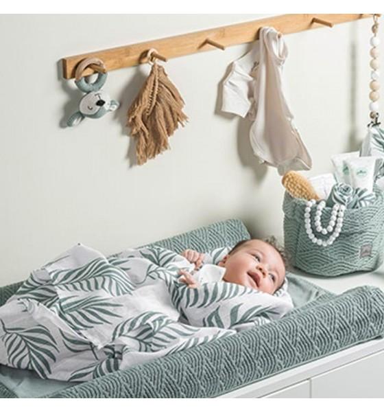 Jollein 2 otulacze niemowlęce Hydrophilic Nature Ash Green