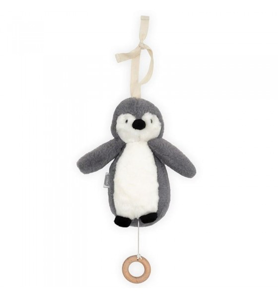 Jollein pozytywka do usypiania Pingwin Storm Grey