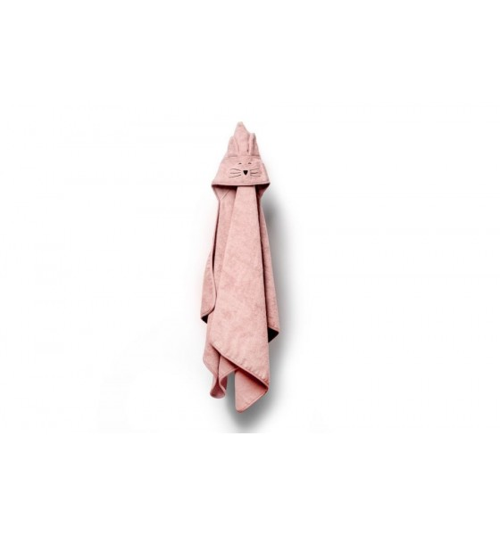 My Memi bambusowy duży ręcznik powder pink