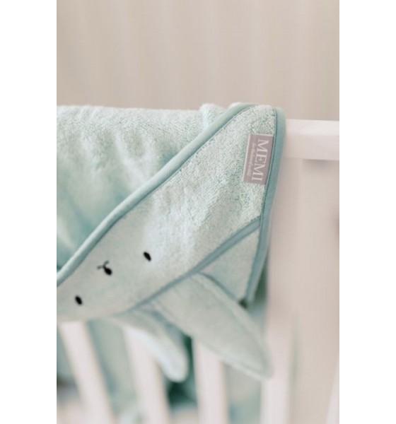 My Memi bambusowy duży ręcznik dusty mint